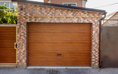 Modern Steel Garage Door vs Wooden Garage Door
